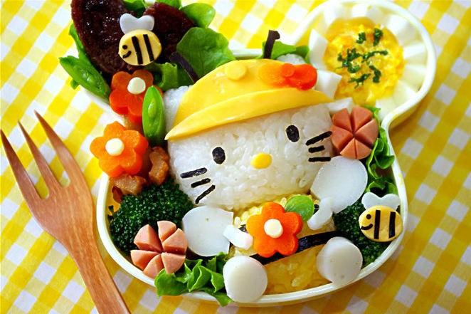 món ăn trang trí hấp dẫn cho trẻ biếng ăn