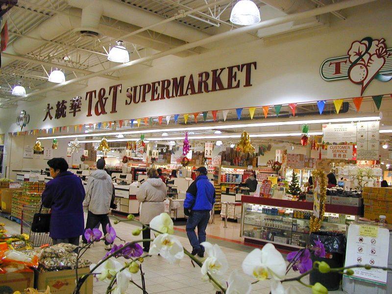 siêu thị ở Canada