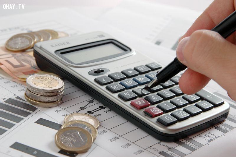 Thiết lập ngân sách thu chi