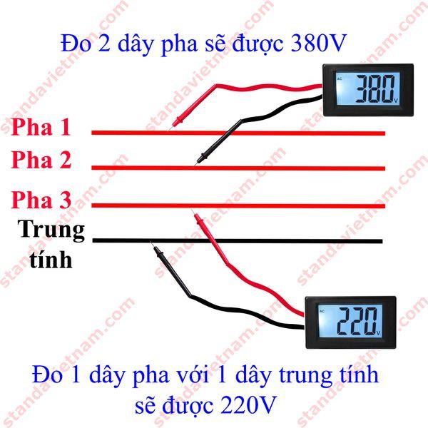 điện 3 pha bao nhiêu vôn