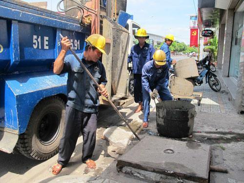 dịch vụ thông tắc cống tại Hoàng Quốc Việt