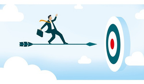 nhân viên kinh doanh đặt mục tiêu cho bản thân