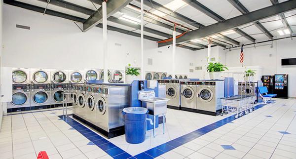 Vị trí - mặt bằng tiệm giặt là
